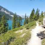 featured image view of Echo Lake from Tahoe Rim Trail and Pacific Crest Trail