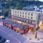 featured image showing aerial view of Moody's Bistro Bar and Beats