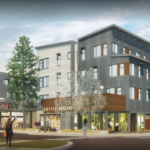 featured image showing a rendering of the completed Truckee Artist Lofts