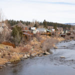 featured image showing houses along the Truckee River in Truckee California