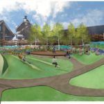 Featured image showing Truckee Downtown Park Amphitheater Design Rendering