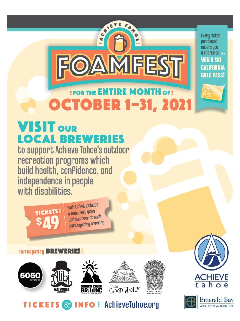 featured image showing the annual Foam Fest Flyer
